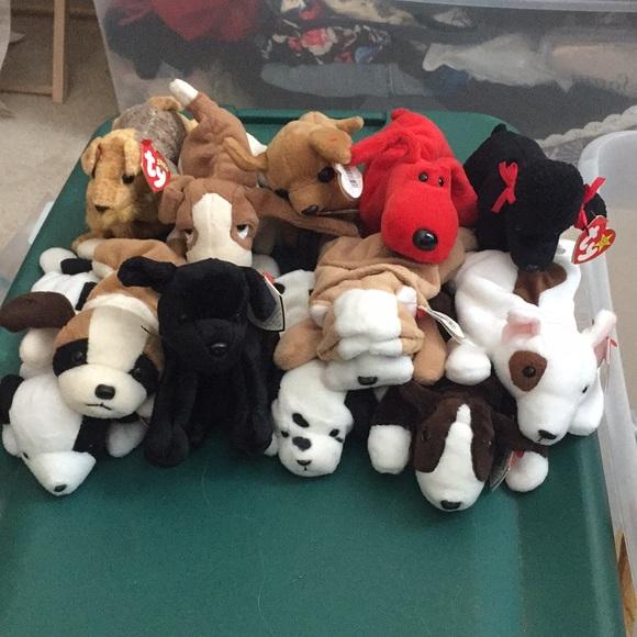 12 dog bundle beanie babies